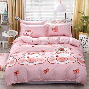 Sábanas para dormir de color rosa